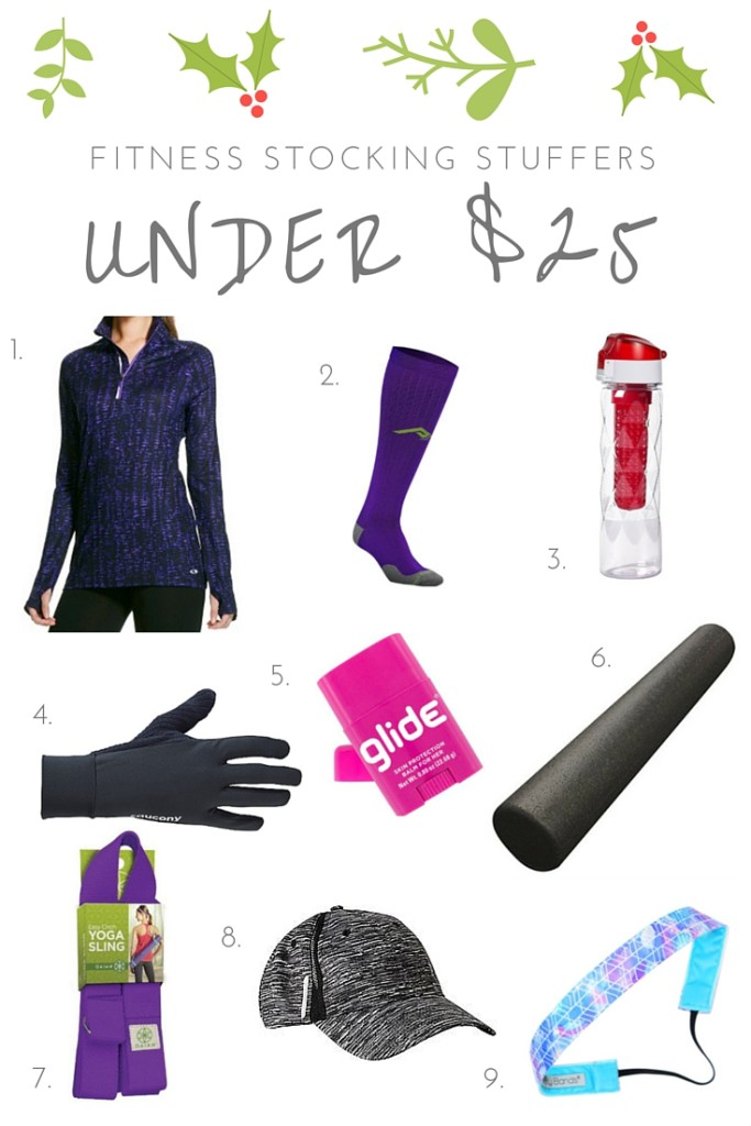 Holiday Stocking Stuffers for a Fitness Enthusiast Under $25