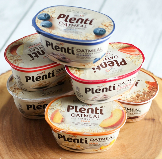 Healthy Breakfast on The Go Featuring Plenti Oatmeal Meets Greek Yogurt