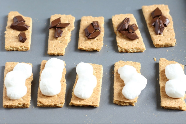 S'mores Bites perfect for a summer party!