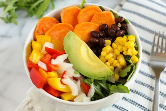 This sweet potato fiesta salad is perfect for a light dinner or a summer side dish. The flavors are fresh and vibrant.