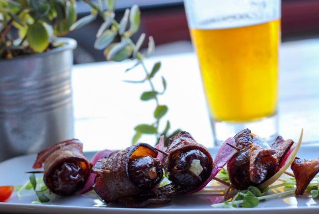 Bacon Wrapped Medjool Dates from Bayside Landing