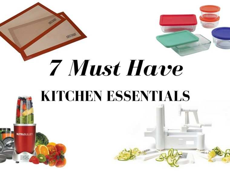 7 Must Have Kitchen Essentials Everyone Should Have