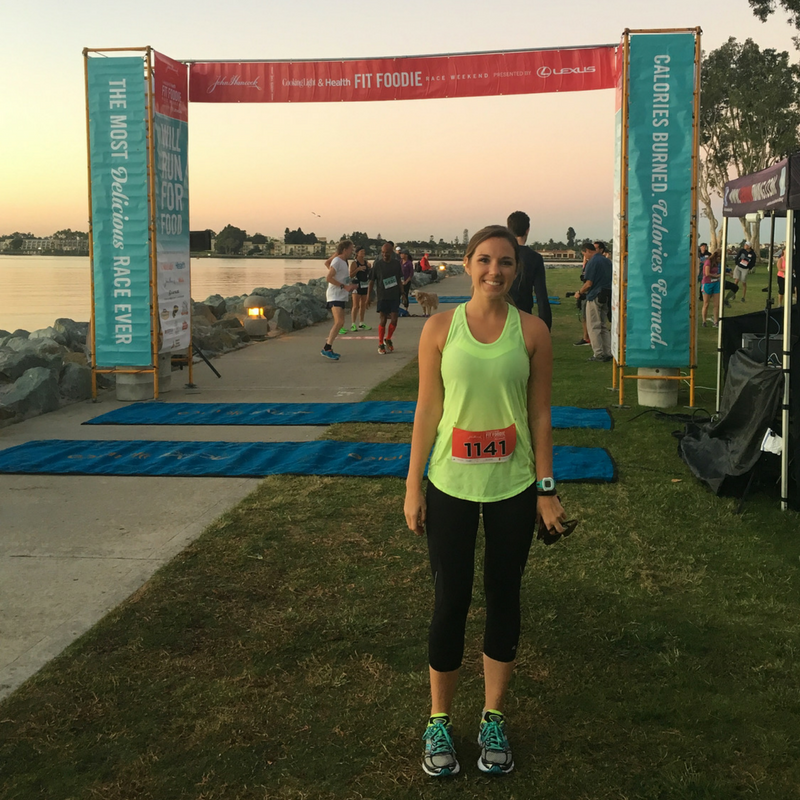 Fit Foodie Run San Diego Race Recap 2016