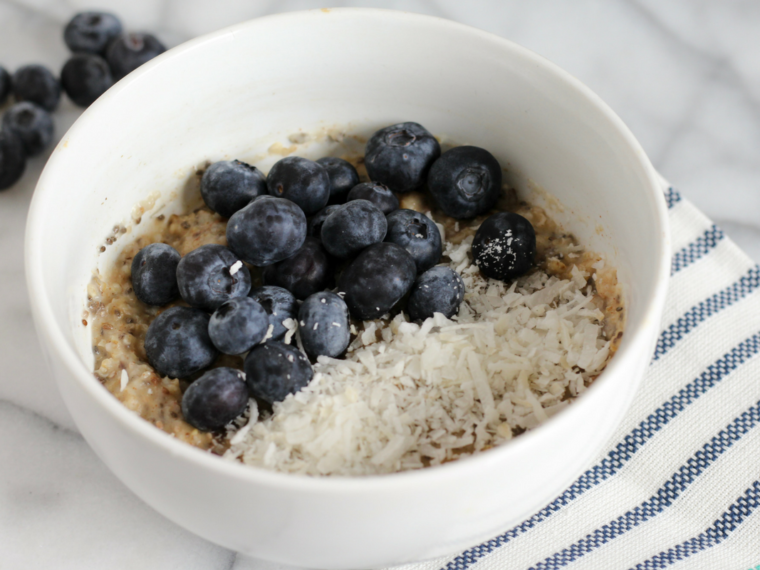 Blueberry Oats