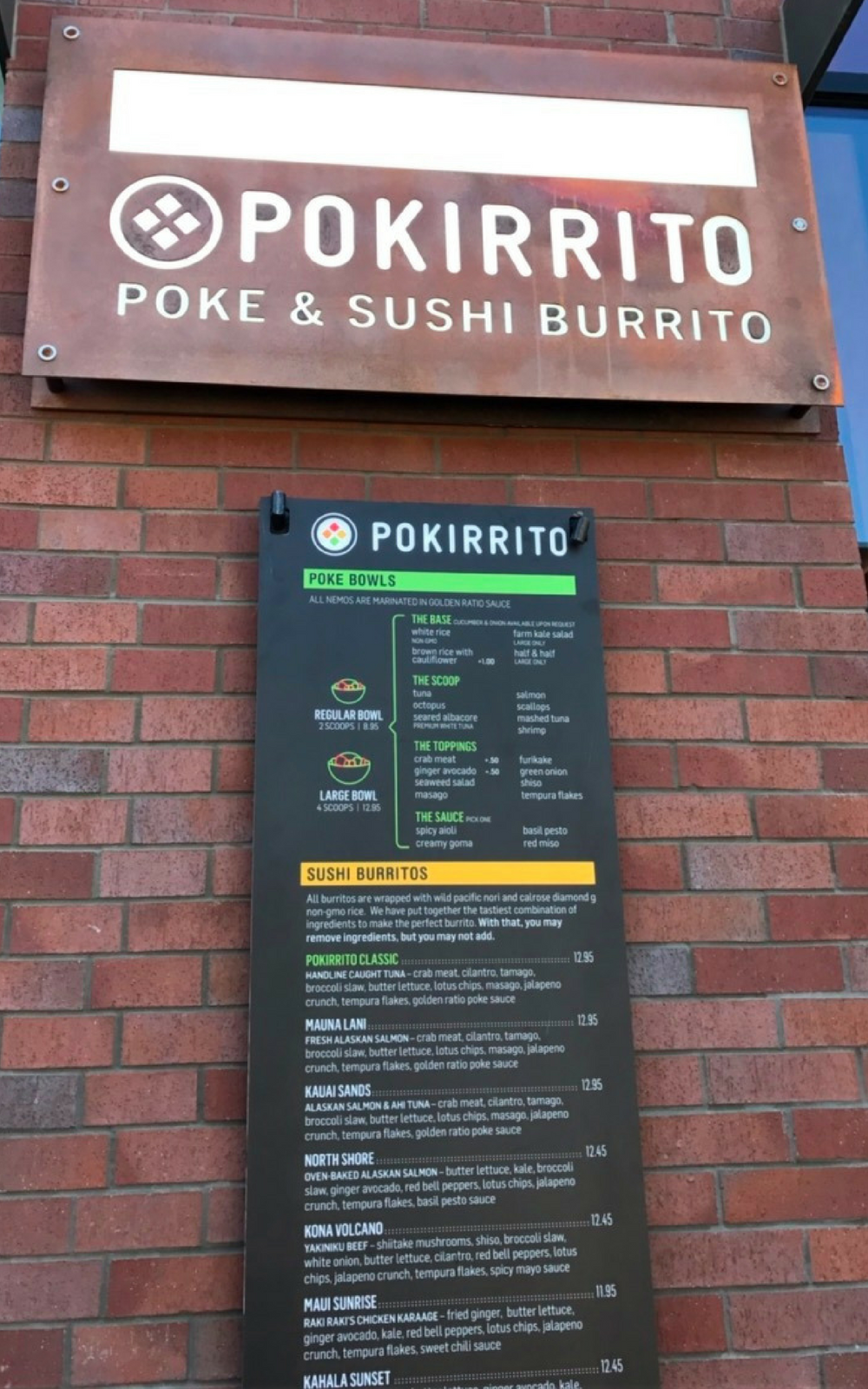 Pokirrito San Diego Restaurant Review