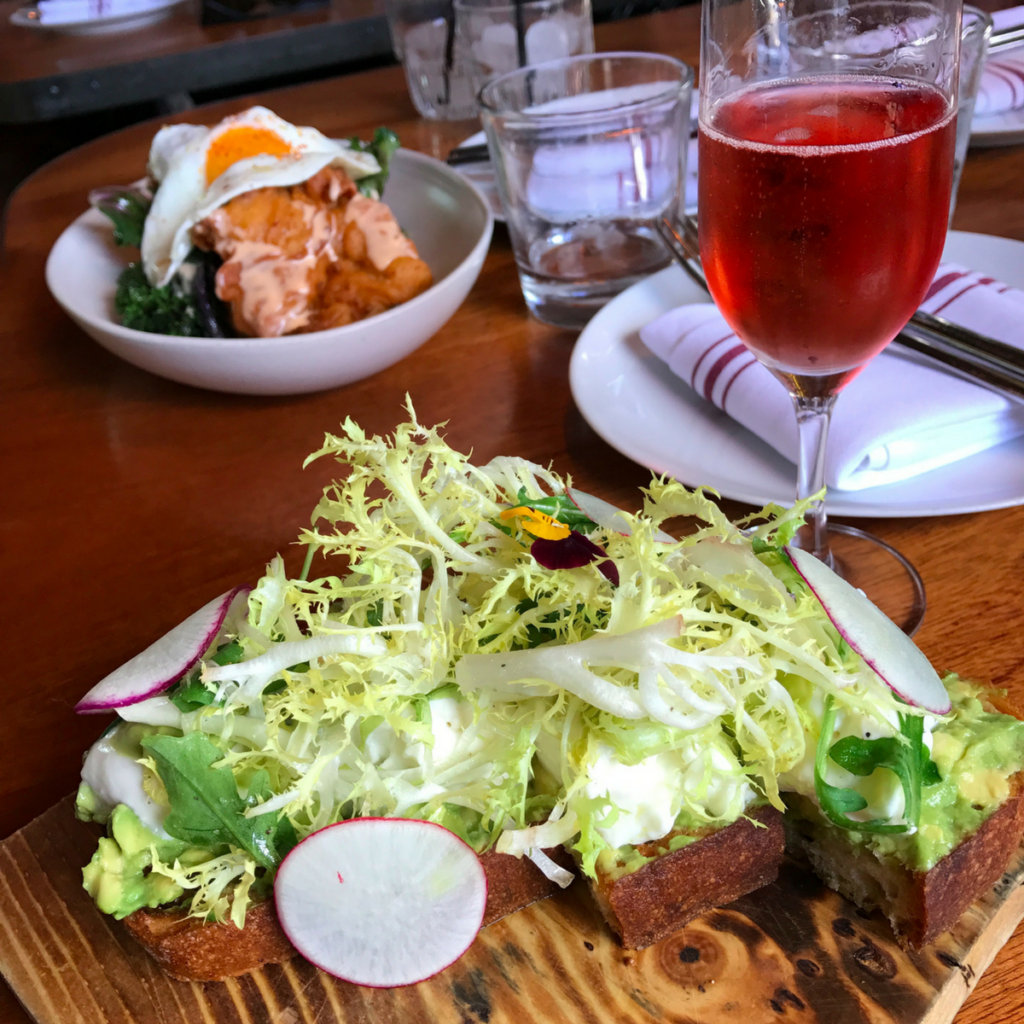 Avocado Toast Brunch on Kettner Exchange