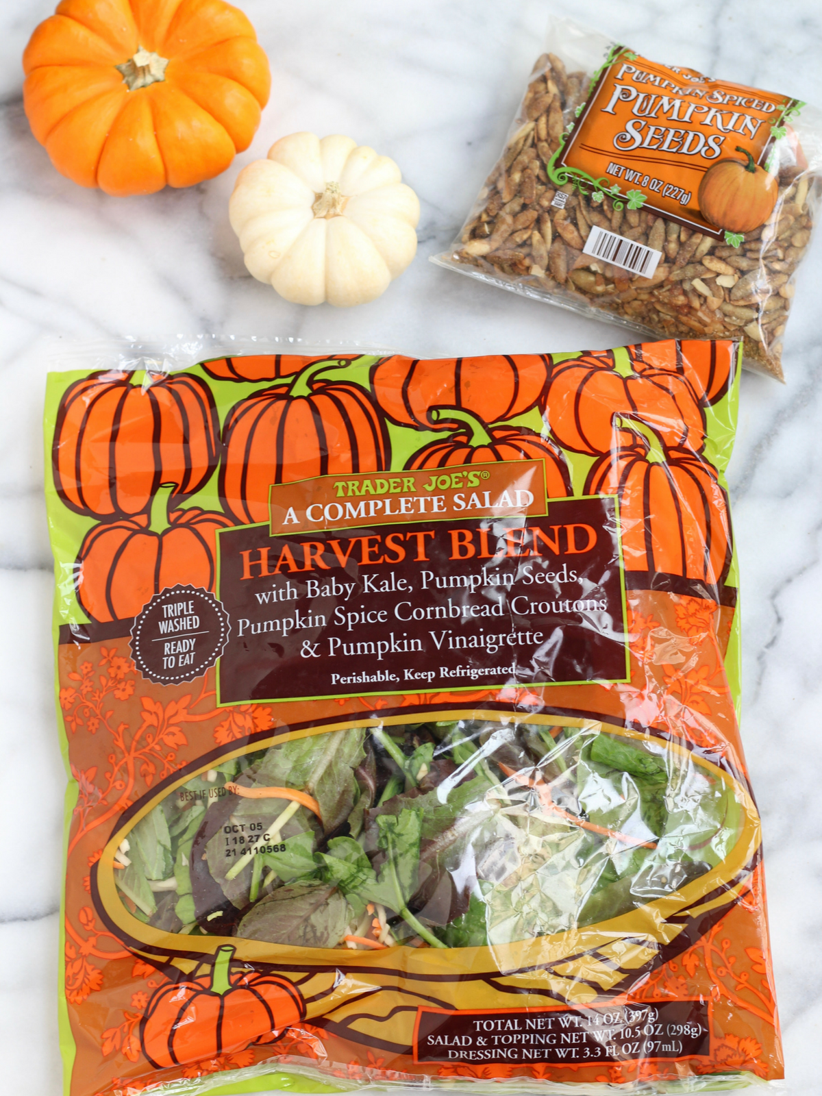 Harvest Salad at Trader Joe's