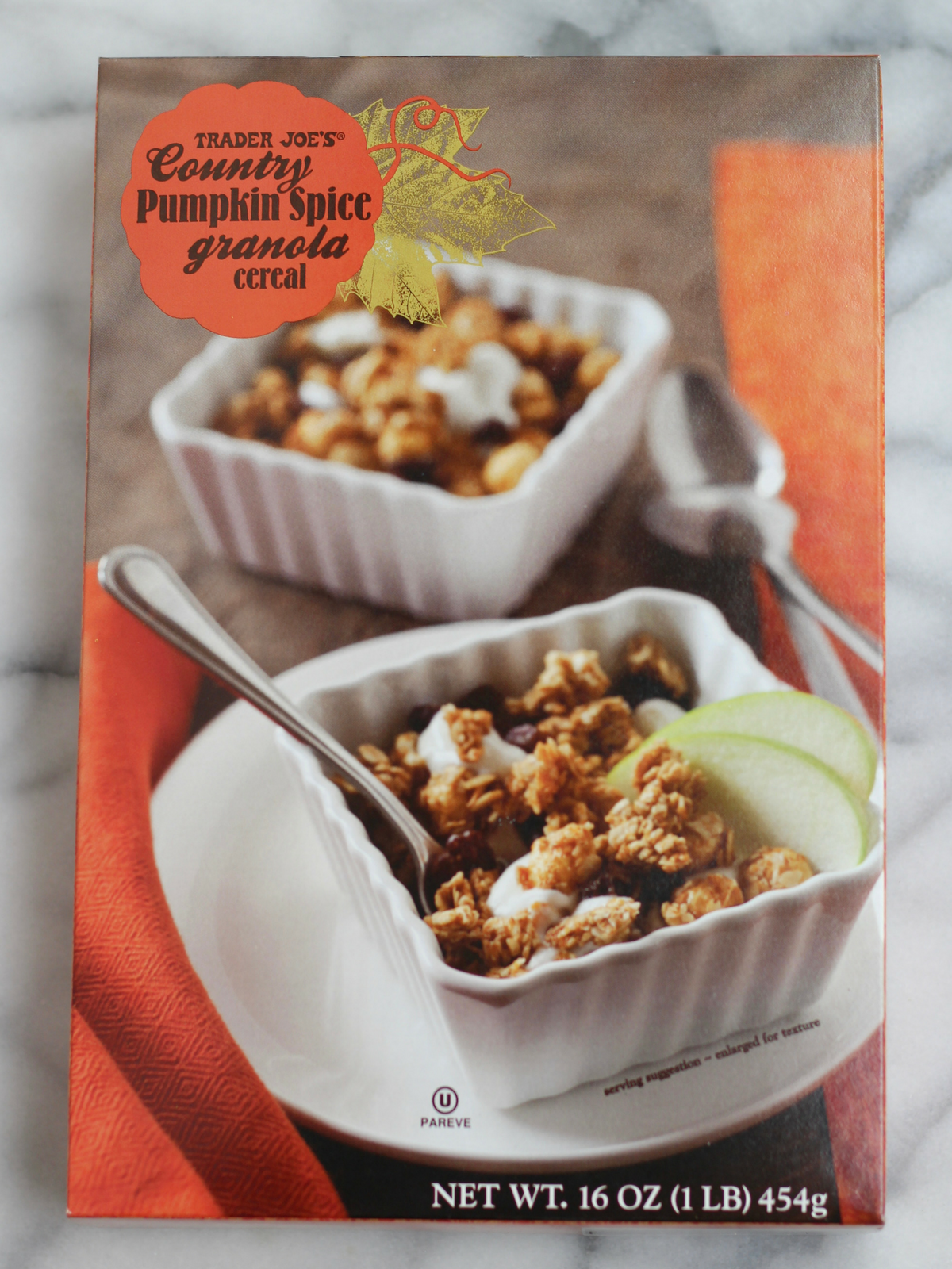 Pumpkin Spice Granola at Trader Joe's