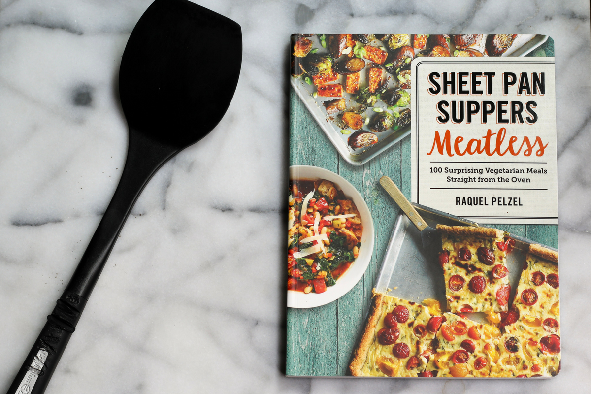Sheet Pan Suppers Meatless Giveaway and Cookbook Review